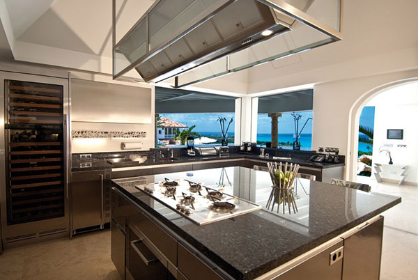 Location villas st martin st barth vente sxm for Cuisine de reve