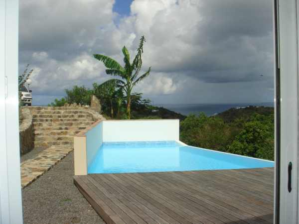 Rent of prestigious villas in saint martin st barth sxm - Tarif piscine a debordement ...